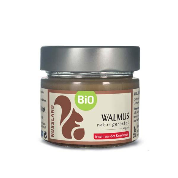BIO Walnuss-Mus 'natur – geröstet'