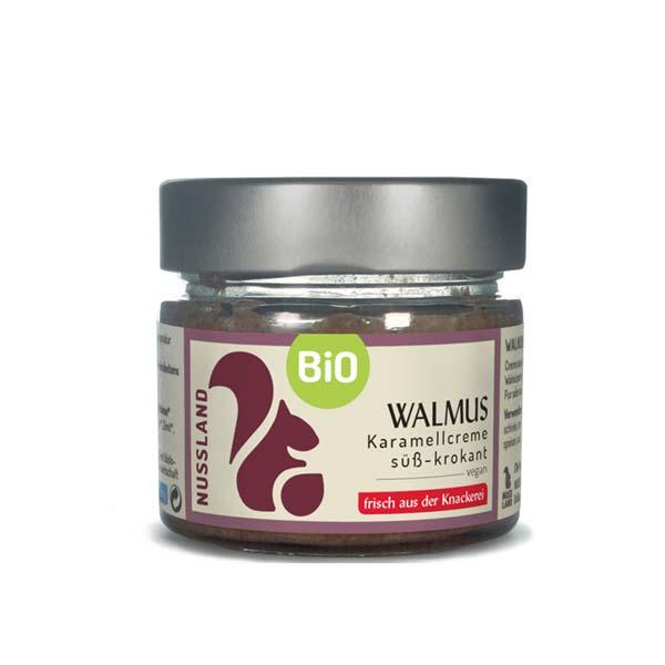BIO Walnuss-Mus 'süß-krokant'
