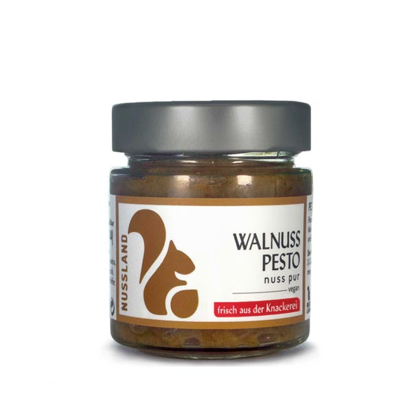 Walnuss-Pesto 'nuss pur'