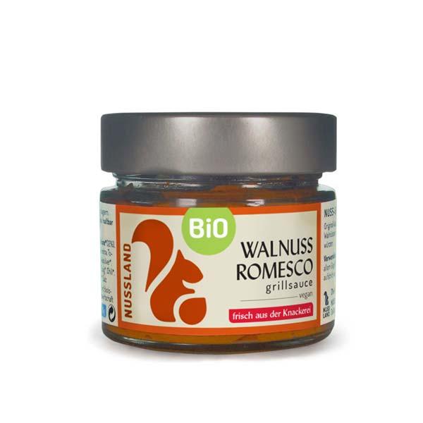 BIO Walnuss Grill-Sauce 'Romesco'