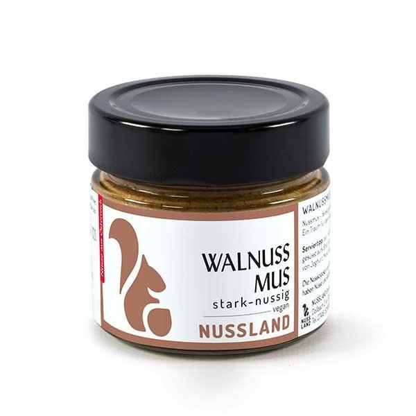Walnuss-Mus 'stark nussig'