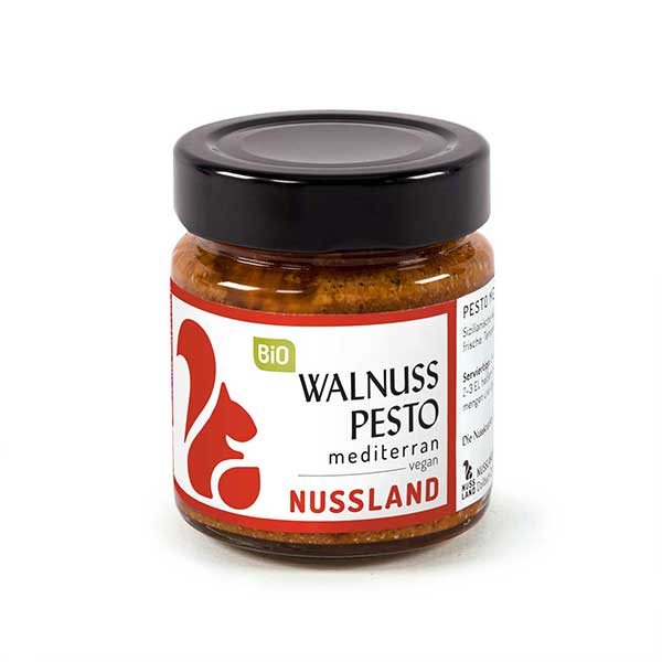 BIO Walnuss-Pesto 'mediterran'