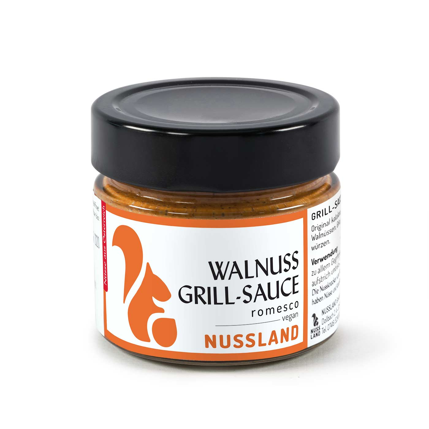 Walnuss Grill-Sauce 'Romesco'