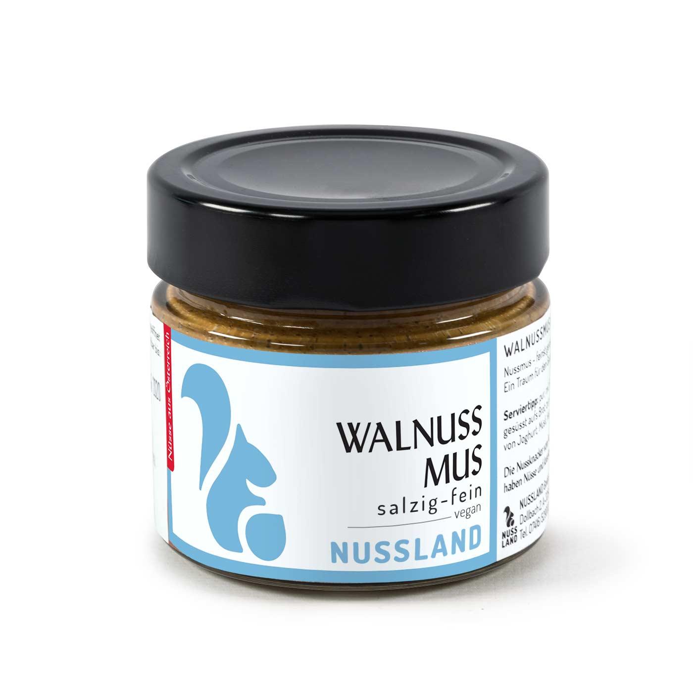 Walnuss-Mus 'Salzig – fein'