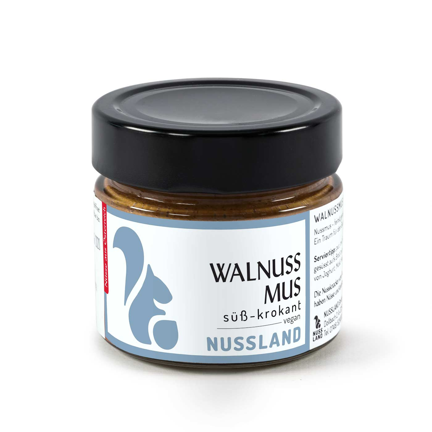 Walnuss-Mus 'Süß – krokant'