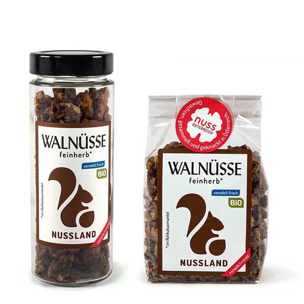 Walnuss-Snack Feinherb BIO
