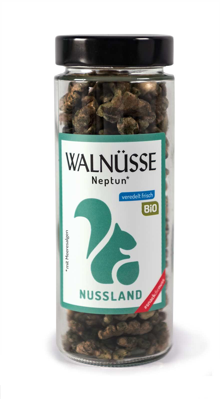 BIO Walnuss-Snack 'Neptun'