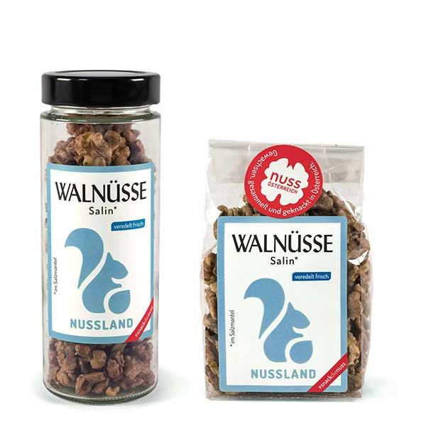Walnuss-Snack Salin
