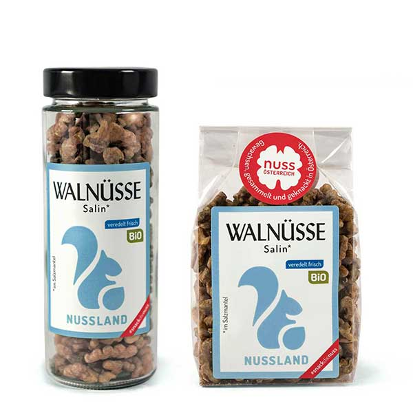Walnuss-Snack Salin BIO