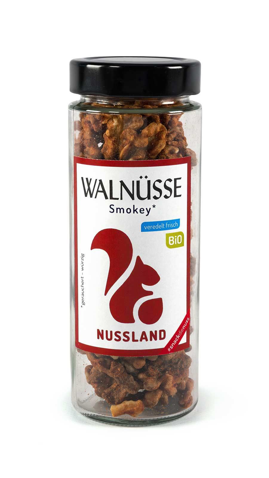 BIO Walnuss-Snack 'Smokey'