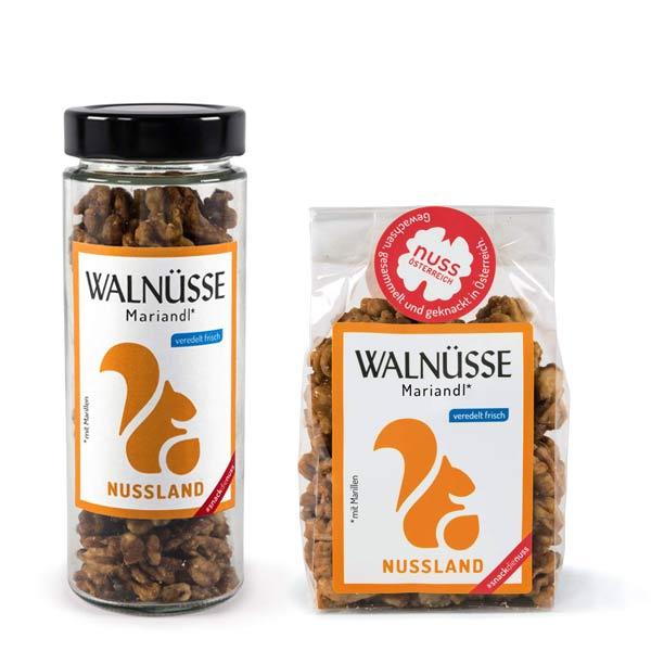 Walnuss-Snack 'Wachauer Mariandl'