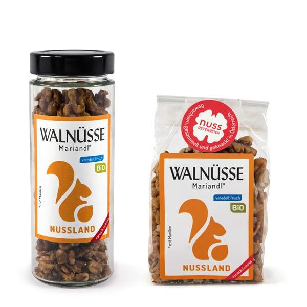 Walnuss-Snack 'Wachauer Mariandl' BIO