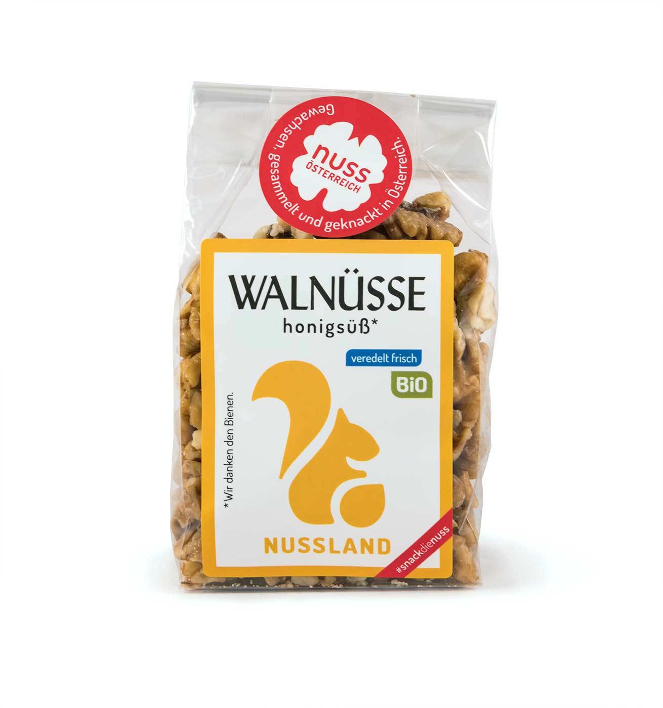 BIO Walnuss-Snack 'Honigsüß'