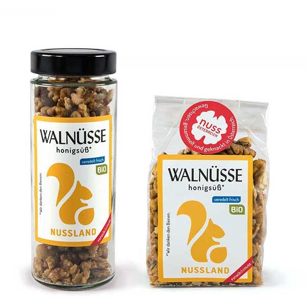 Walnuss-Snack Honigsüß BIO