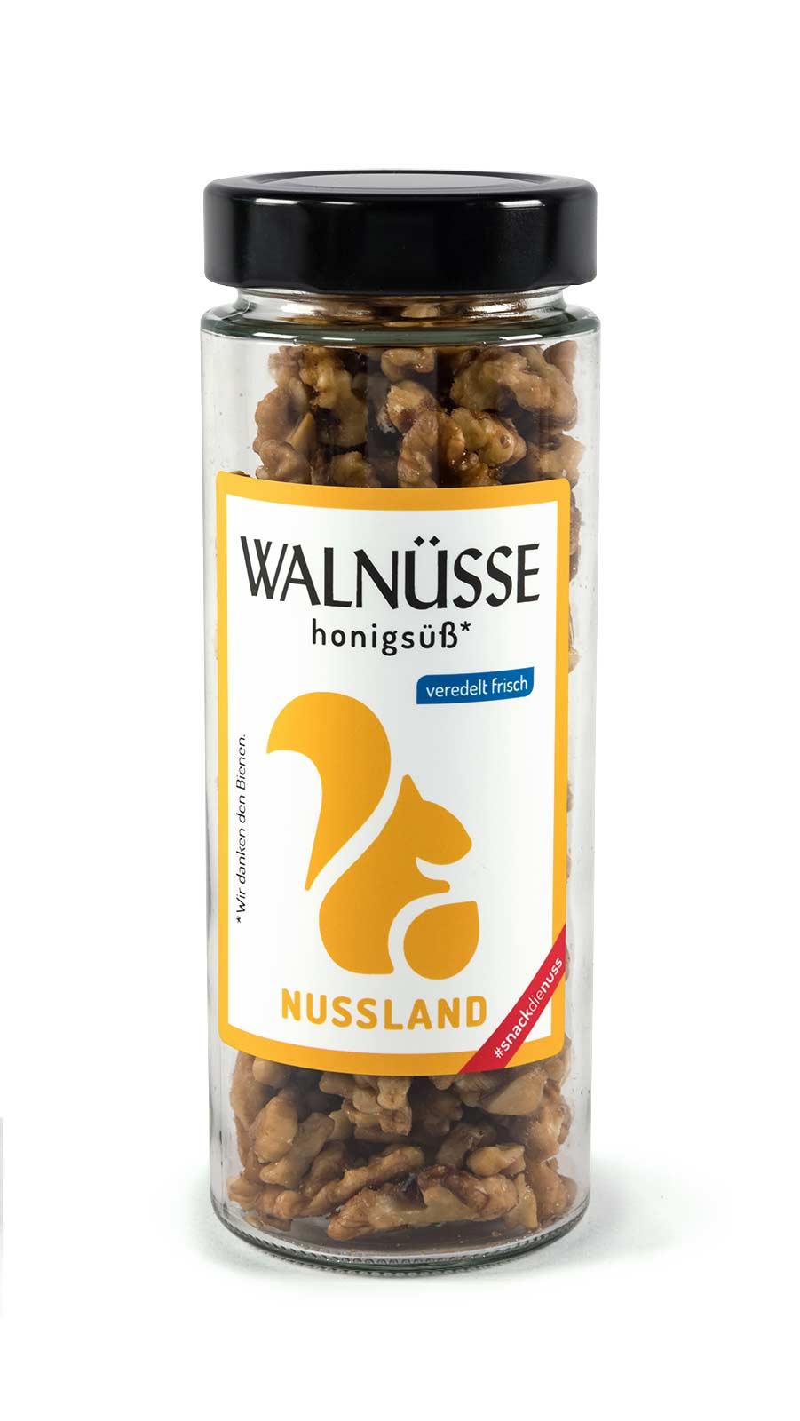 Walnuss-Snack 'Honigsüß'