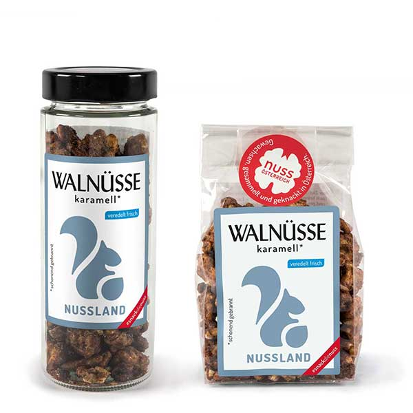 Walnuss-Snack 'Karamell'
