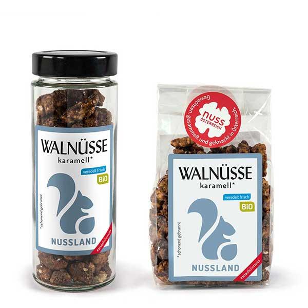 Walnuss-Snack 'Karamell' BIO