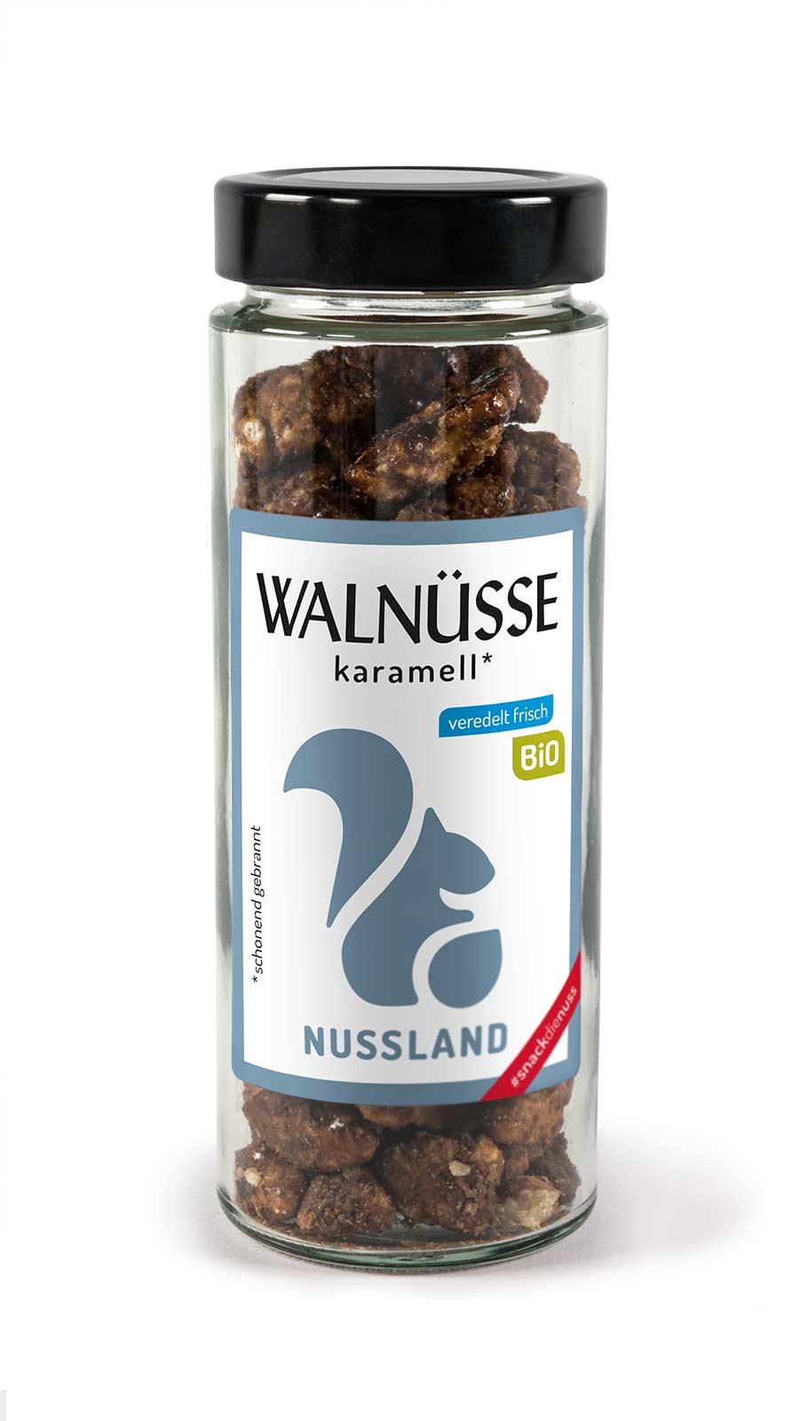 BIO Walnuss-Snack 'Karamell'