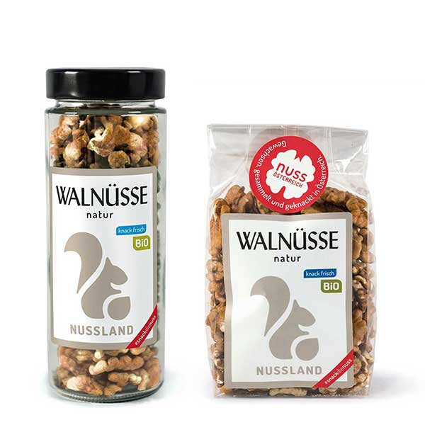 Walnuss-Snack 'natur' BIO